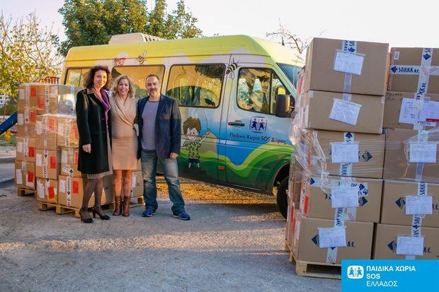 Η SARKK ΑΒΕΕ συνεχίζει για 3η συνεχόμενη χρονιά τη στήριξη  φιλανθρωπικών ιδρυμάτων