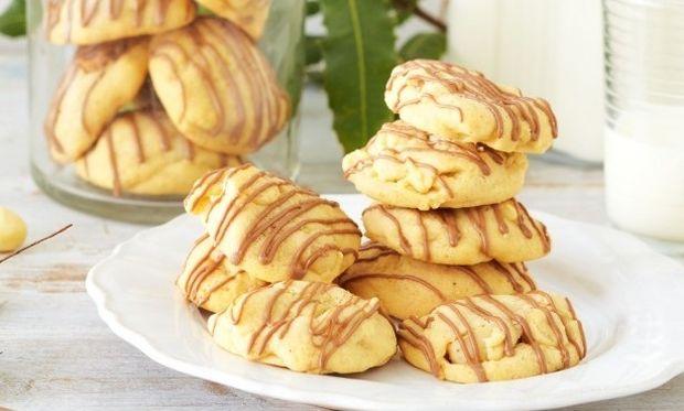 Μπισκότα με μακαντέμια και σοκολάτα γάλακτος: Θα τα λατρέψετε!