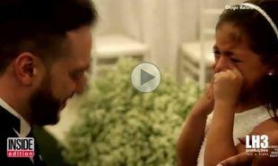 Ο πατριός ζητάει από τη μικρούλα «να είναι για πάντα η κόρη του»