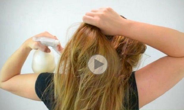 Χρησιμοποίησε γάλα για να ισιώσεις τα μαλλιά σου!