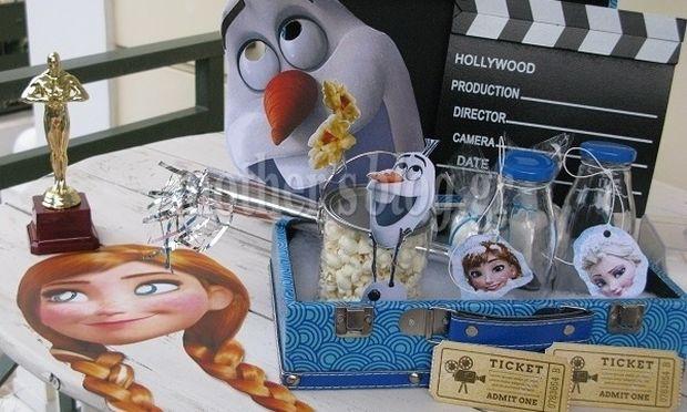 Οργανώστε μόνες σας στο σπίτι ένα παιδικό movie party! Δείτε πώς