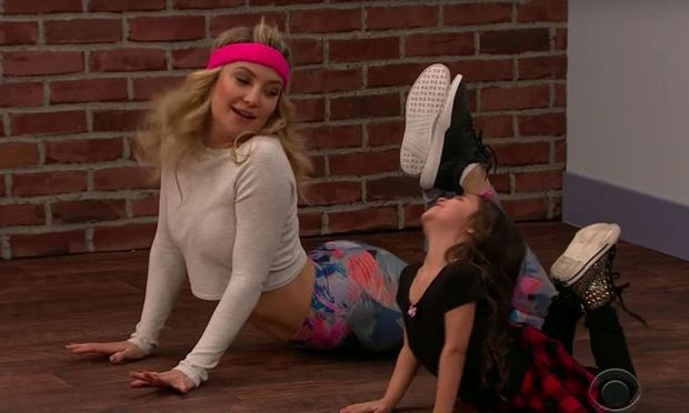 Toddlerography: Η Kate Hudson αντιγράφει παιδικό χορευτικό!
