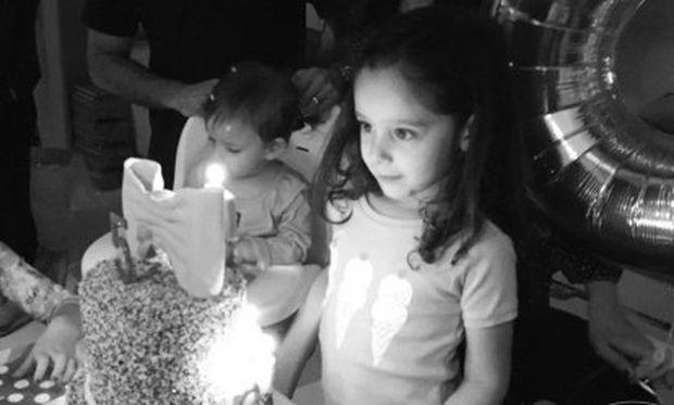 Έτσι γιόρτασε τα 5α γενέθλια της κόρης της η γνωστή ηθοποιός