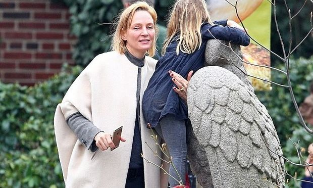 Η Uma Therman κέρδισε την κηδεμονία της κόρης της και είναι πιο ευτυχισμένη από ποτέ!