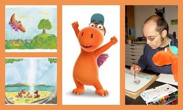 Ο συγγραφέας παιδικών βιβλίων Ίνγκο Ζίγκνερ και ο μικρός δράκος Καρύδας σας περιμένουν να τους γνωρίσετε από κοντά
