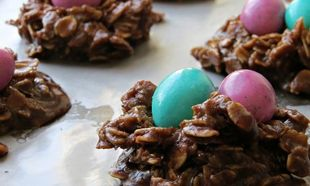 Εύκολα, υγιεινά και χωρίς ψήσιμο πασχαλινά μπισκότα