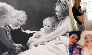 7 διάσημες που έμειναν ξανά έγκυες αμέσως μετά τη γέννηση του πρώτου τους παιδιού