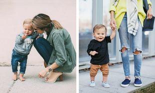 Ανοιξιάτικη μόδα για μαμά και γιο-Πάρτε ιδέες