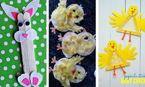 Φτιάξτε με τα παιδιά σας εύκολες πασχαλινές κατασκευές