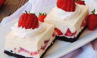 Καιρός για γλυκό με φράουλες και μπισκότα όρεο!