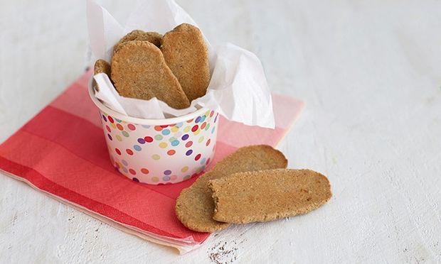 Μπισκότα κατάλληλα για τα πρώτα δοντάκια του μωρού. Δοκιμάστε τα