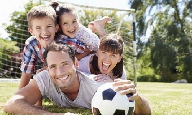 Γιατί είναι σημαντικό να γυμνάζεστε μαζί με τα παιδιά σας
