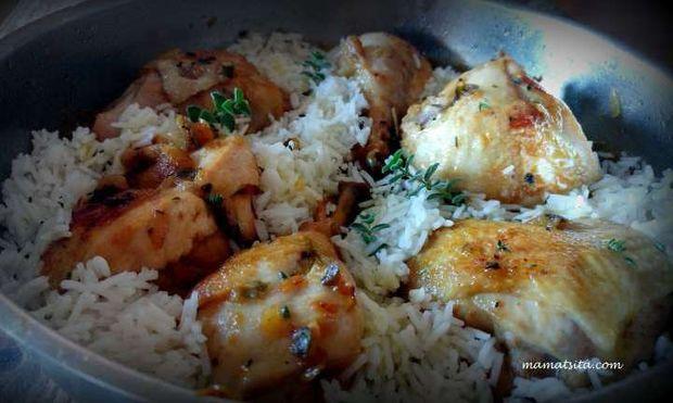 Κοτόπουλο με σάλτσα μουστάρδας σε 30′ από τη MamaTsita