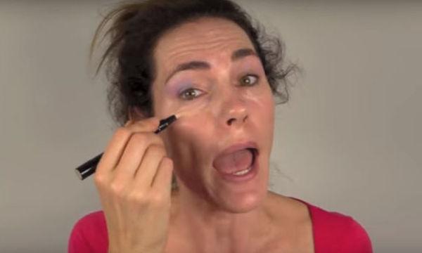Makeup tutorial για μαμάδες (vid)