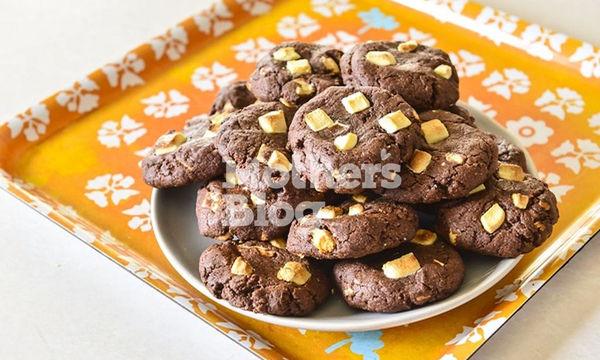 Λαχταριστά Chocolate Cookies με λευκή σοκολάτα από τον Γιώργο Γεράρδο
