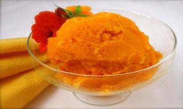 Σορμπέ από καρότο –πορτοκάλι για τις πολύ ζεστές μέρες