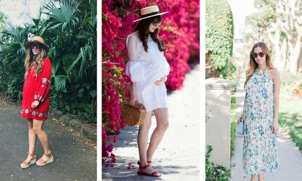 Καλοκαιρινή μόδα για εγκύους - Πάρτε ιδέες