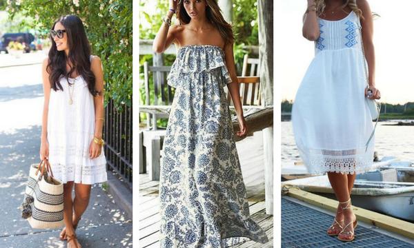 Όμορφα καλοκαιρινά φορέματα για όλη την ημέρα - Πάρτε ιδέες