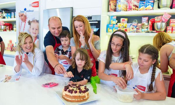 Γιορτινό φινάλε χαράς για τον διαγωνισμό «Ζαχαροπλάθουμε με τα παιδιά μας»