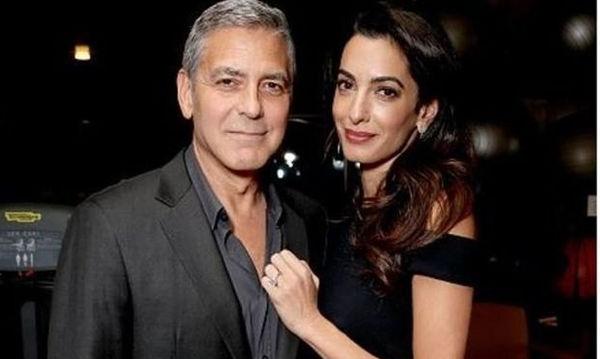 Η πρώτη έξοδος της Amal & του George Clooney μαζί με τα δίδυμα