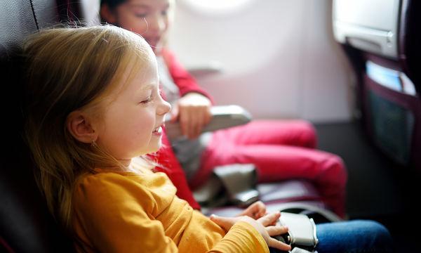 Παιδιά και αεροπλάνο: Είναι πιο εύκολο το ταξίδι απ' όσο νομίζετε