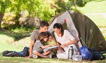 Camping με τα παιδιά: Οργανωθείτε κατάλληλα και κάντε την εμπειρία μοναδική
