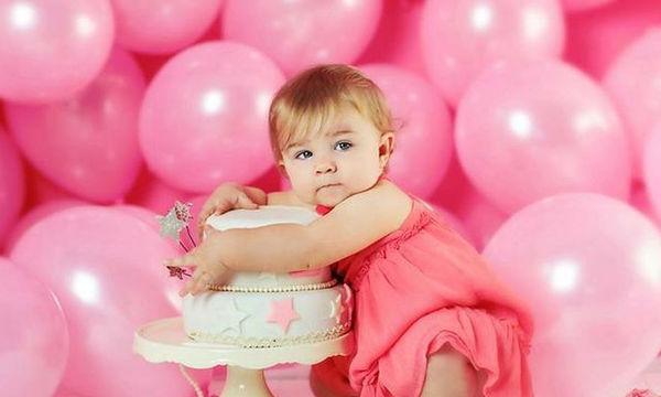 Πρώτα γενέθλια της κόρης σας: 20 ιδέες για ξεχωριστές φωτογραφίες (pics)