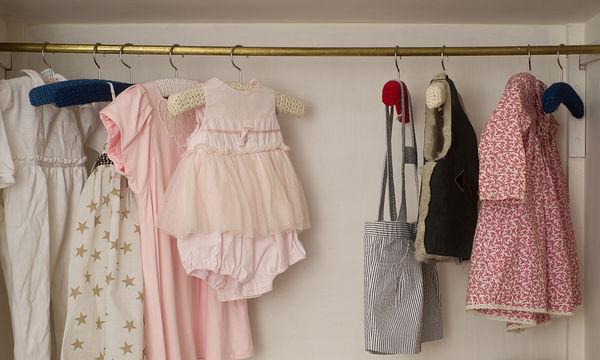 Χρήσιμες συμβουλές για να κάνεις τη γκαρνταρόμπα των παιδιών σου πιο άνετη από ποτέ!