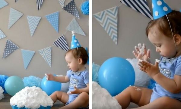 Παιδικό πάρτι: Πώς θα φτιάξετε μόνες σας στολίδια για τα πρώτα γενέθλια του παιδιού σας (vid)