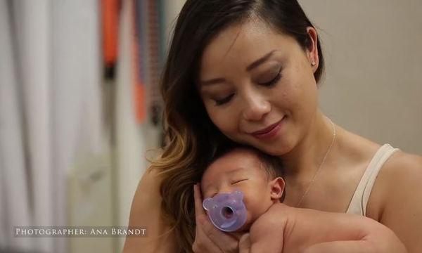 Ούτε που φαντάζεστε τι συνέβη σε αυτή τη μαμά κατά τη διάρκεια της φωτογράφισης (vid)