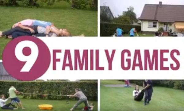 Διασκεδάστε μαζί με τα παιδιά σας παίζοντας εννέα πρωτότυπα παιχνίδια (vid)