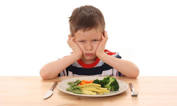 Τι κάνετε όταν το παιδί δεν έχει όρεξη για φαγητό