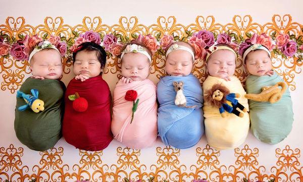 Αυτές είναι οι πιο μικρές πριγκίπισσες της Disney που έχετε δει