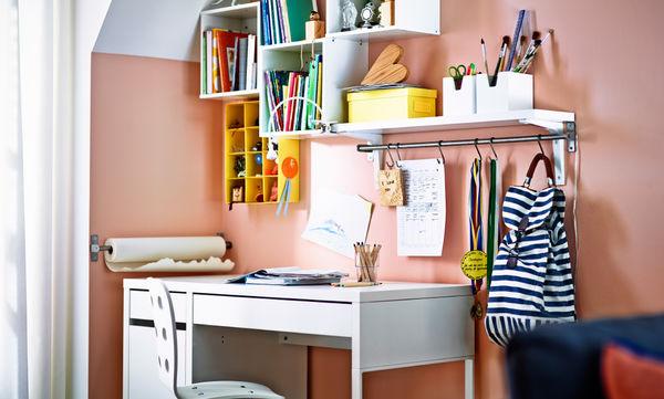 Deco: Ιδέες με παιδικά γραφεία για να ανανεώσετε το δωμάτιο του παιδιού σας