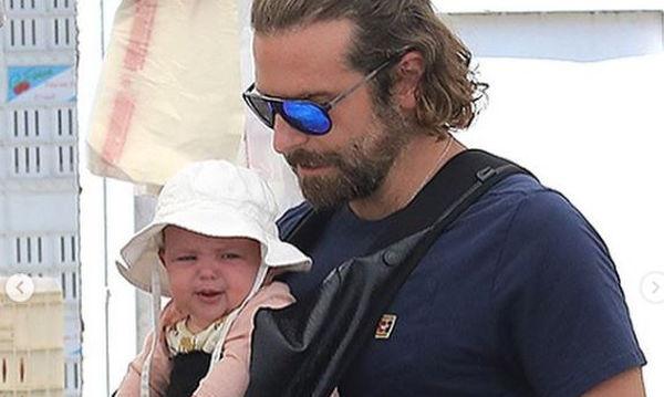 O Bradley Cooper ο πιο γλυκός μπαμπάς! Δεν τον φωνάζουν άδικα «Dilf» στο εξωτερικό (pics)