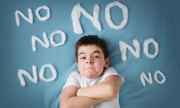 Τα «Όχι» του παιδιού: Όταν το παιδί αρνείται να συνεργαστεί τι να κάνουν οι γονείς