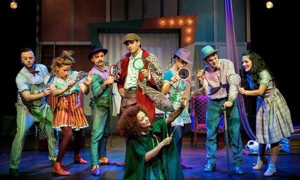 Ο Σέρλοκ Χολμς στο Θέατρο Κήπου!