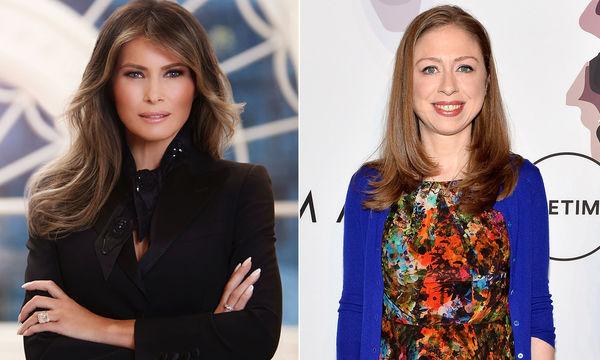 Η Melania Trump ευχαριστεί δημοσίως την Chelsea Clinton που υπερασπίστηκε τον 11χρονο γιο της