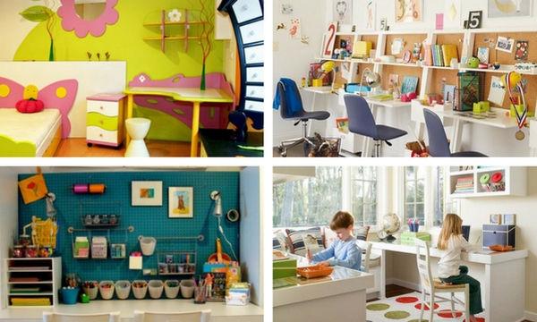 Παιδικά γραφεία: Ιδέες για να επιλέξετε το κατάλληλο για το παιδί σας