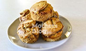 Muffins ολικής άλεσης με μαρμελάδα βερίκοκο από τον Γιώργο Γεράρδο