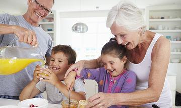 Ο παππούς και η γιαγιά κακομαθαίνουν το παιδί μου;