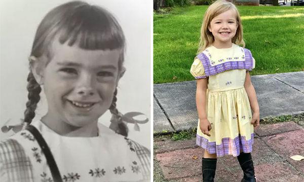 Από το 1950 αυτό το φόρεμα το βάζουν τα κορίτσια της οικογένειας την πρώτη μέρα στο σχολείο (pics)
