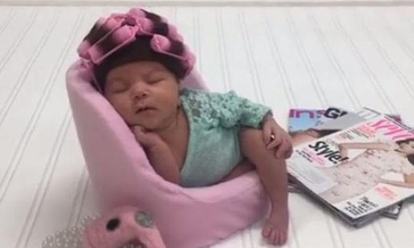 Αυτό το νεογέννητο μωρό, ξετρέλανε εκατομμύρια χρήστες στο Διαδίκτυο (video)
