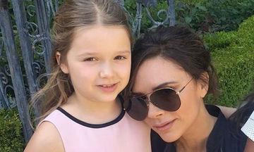 Κι, όμως, η Victoria Beckham γελάει και υπεύθυνη είναι η κόρη της, Harper