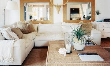 Είναι μικροί οι χώροι του σπιτιού σας; Έξυπνα tips για να μοιάζουν μεγαλύτεροι