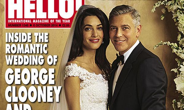 George και Amal Clooney: Η ιστορία πίσω από την πρώτη γαμήλια φωτογραφία τους