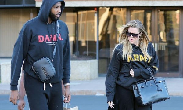 Khloe Kardashian: Η πρώτη δημόσια εμφάνιση στον 3ο μήνα της εγκυμοσύνης της (pics)