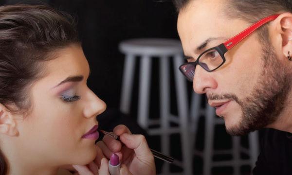 Aποκλειστική συνεργασία του Έλληνα Make-Up Artist Γιάννη Μιχαηλίδη με το ΙΕΚ ΑΛΦΑ
