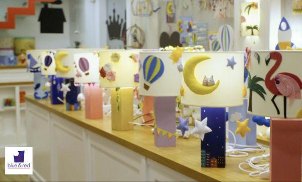 blue & red: Ιστορίες σαν όνειρα που έγιναν δημιουργίες για το παιδικό δωμάτιο
