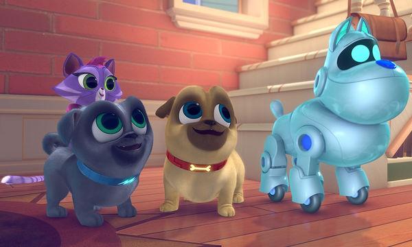 Κουταβοφιλαράκια -Νέα σειρά στο Disney Junior